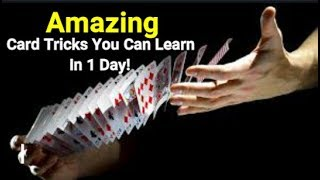Amazing magic tricks you can learn in 1 day