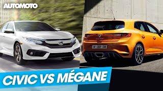 Duel : Honda Civic Type R vs Renault Mégane RS
