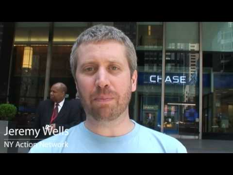 A Day of Action Against JPMorgan Chase
