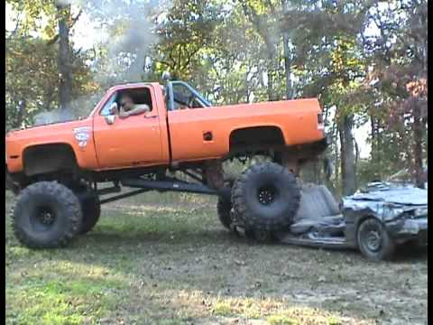 cummins mud truck