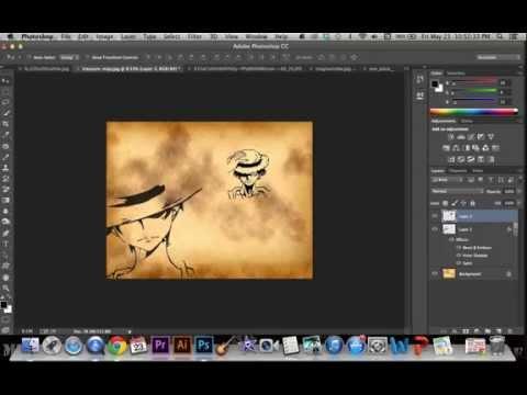 One Piece Luffy Background Design video