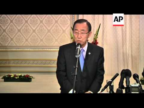 UN chief expresses concern about situation in Syria