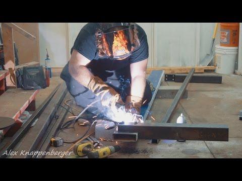 Alex's DIY 4x8 CNC Router Build Part 1 - The Base