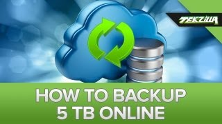 How to Back Up 5 Terabytes Offsite!