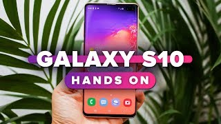 Samsung Galaxy S10 hands-on