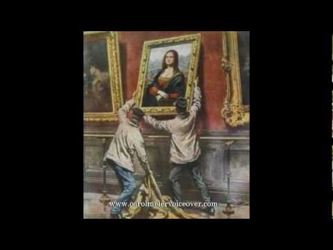 Man Who Stole The Mona Lisa - Female Documentary Narrator - SUBTITLED