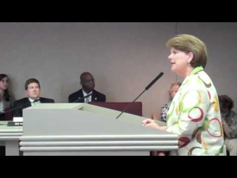 Barbara Rountree of the Capitol School in Tuscaloosa backs Education Options Act - 04/12/2012