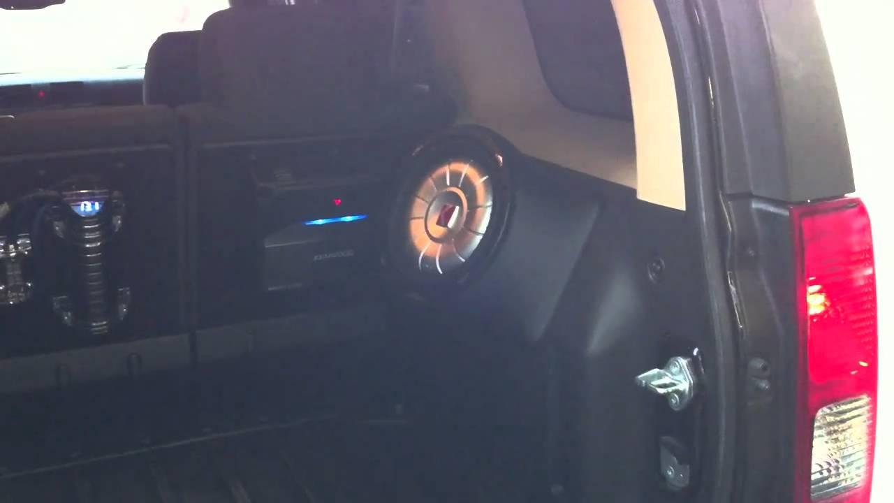 H3 Hummer Custom Side Fiberglass Enclosure Youtube