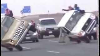 Amazing Crazy Car Stunts at DUBAI - Saudi Arabia | Whatsaap Viral Video
