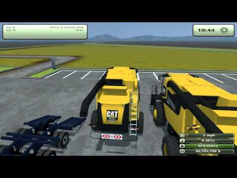 Farming Simulator 2013 Mods - Kenworth Heavy Haul T800. Kenworth Grain Truck. and more!