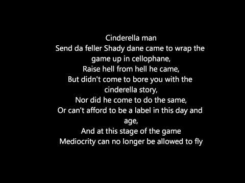 Cinderella Man - Eminem (lyrics Dirty) video