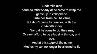 Cinderella Man - Eminem (Lyrics Dirty)