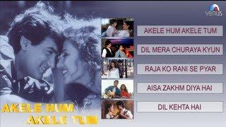 Akele Hum Akele Tum Video Jukebox | Aamir Khan, Manisha Koirala |