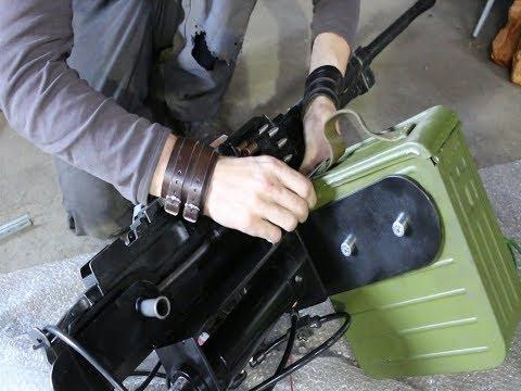 Building a computer controlled machine gun part 1.