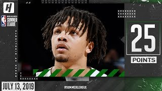 Carsen Edwards Full Highlights Celtics vs Grizzlies (2019.07.13) Summer League - 25 Points!