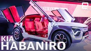 Kia Habaniro concept at NY Auto Show 2019: One spicy EV