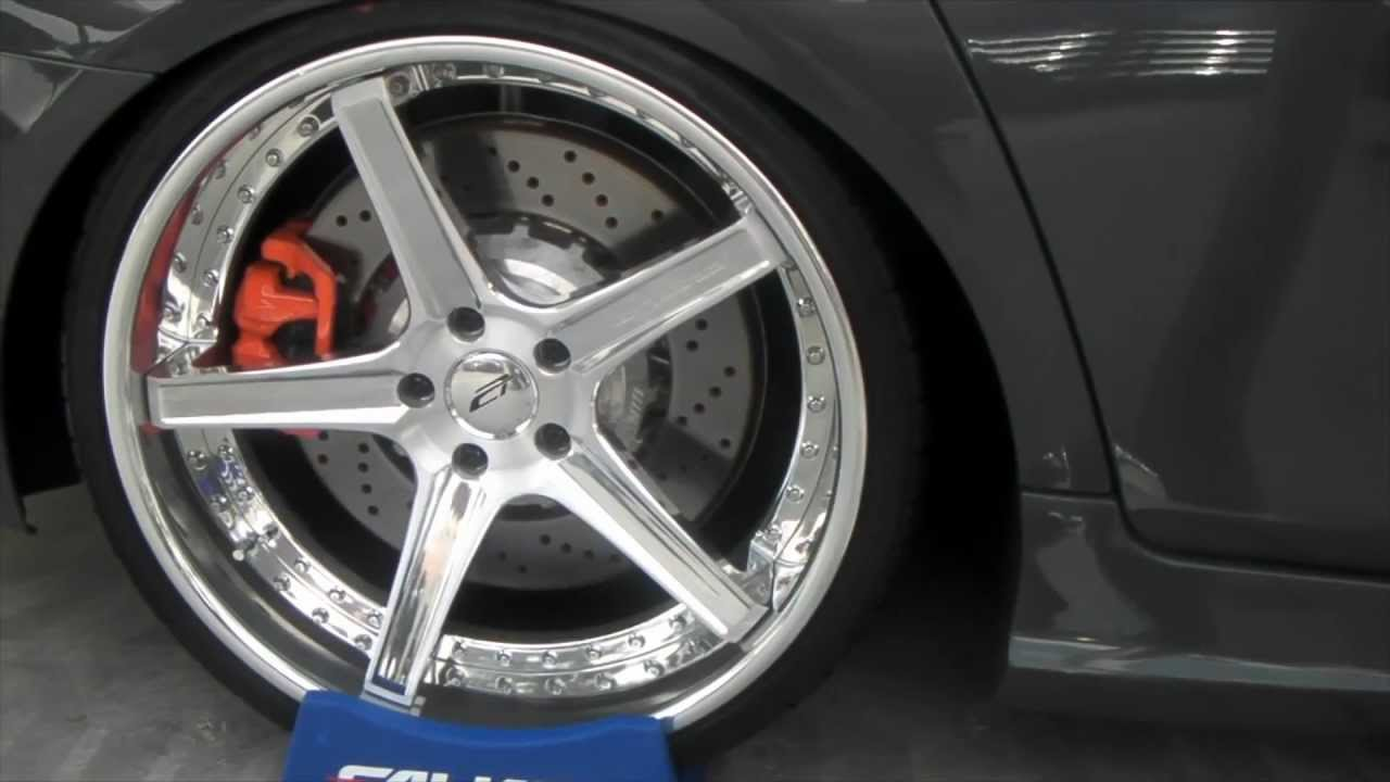 dubsandtires   2010 bmw m5 two different 3 piece 22 inch