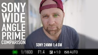 Sony 24mm 1.4 GM vs Sigma 24mm 1.4 vs Batis 25mm f2, Video focus and Image Quality