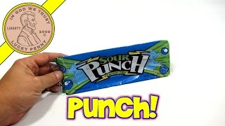 Sour Punch Blue Raspberry Straws, American Licorice Company
