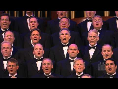 "Men of the Mormon Tabernacle Choir sing ""You Raise Me Up"""