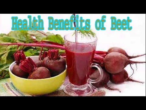 Health Benefits of Beet | The Benefits of Beet Juice for Superhealthy Blood