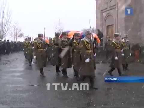 Armenian military chopper pilots burial in Yerevan Nov 25 2014