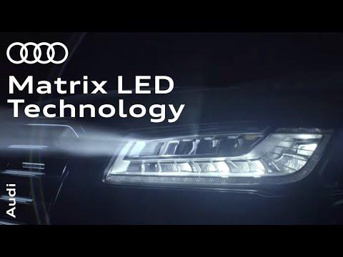 Audi Matrix LED technology