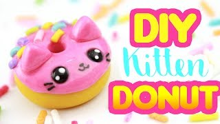 DIY KITTEN DONUT Charm! | KAWAII FRIDAY
