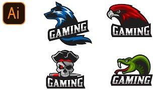FREE Gaming Logo Pack #2 | Clan/Esport/Mascot | Adobe Illustrator Free Logo Templates