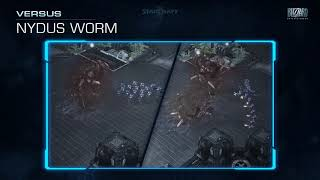 BlizzCon 2018 StarCraft II Nydus Worm changes (2019)