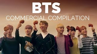 BTS commercial compilation