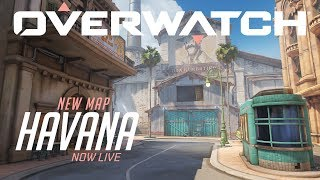 [NOW Playable] Havana | New Escort Map | Overwatch