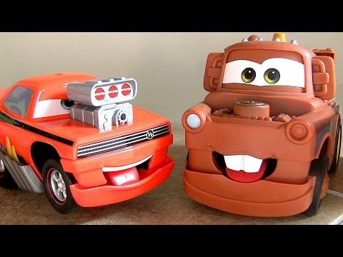 Cars Funny Talkers Snot Rod - Mater - Lightning McQueen Disney Pixar Talking Cars by Mattel