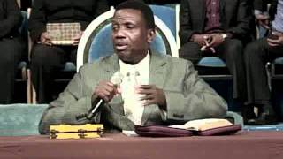 Holy Communion  - Pastor E. A. Adeboye (2011 RCCGNA East Coast Workers' & Ministers' Conference)