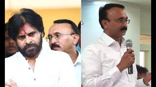 Janasena Chief Pawan Kalyan Appointed Thota Chandrashekar as General Secretary