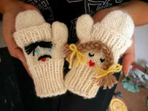 Bella Baby Knitting Patterns : bebek eldiveni modelleri - YouTube