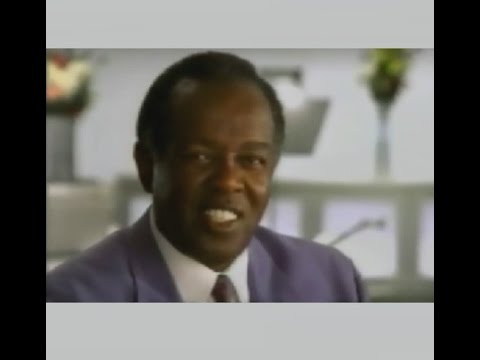 LOU RAWLS in a 2000 life insurance commercial