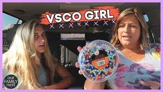 DOING BASIC VSCO GIRL THINGS!