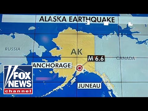 Tsunami warning after earthquake near Anchorage, Alaska