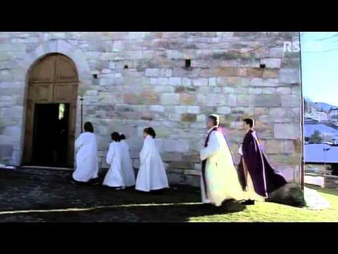 Inizio, Messa in diretta nazionale da Quinto (TI) - Scuola Corale della Cattedrale di Lugano
