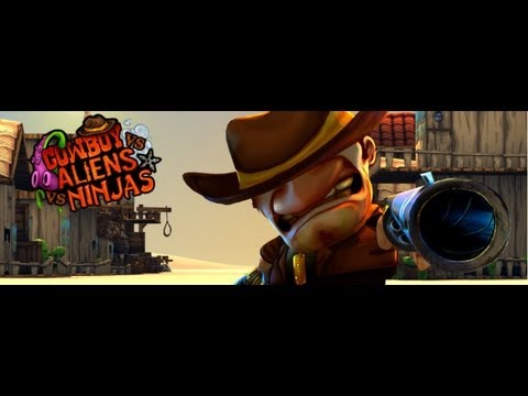 Cowboy Vs Aliens Vs Ninjas - Download Now On Apple´s Appstore Or Google´s Play Store! video