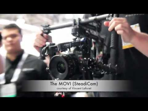 NAB 2013 - MOVI SteadiCam by FreeFly - New Technology