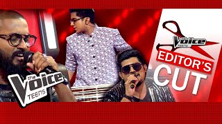 Veenath & Coaches | Sansara Sihine | Blind Auditions | The Voice Teens Sri Lanka