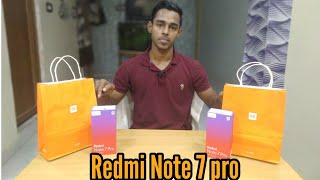 Xiaomi Redmi note 7 pro|| Unboxing and review || opinion in hindi