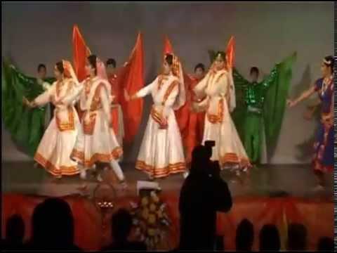 dance on vande mataram ( patriotic )