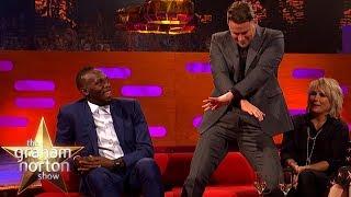 Channing Tatum Teaches Usain Bolt a New Dance Move | The Graham Norton Show