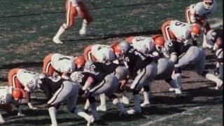 1982 Browns at Raiders Playoff Game