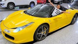 10 Year Old Kid Ferrari Owner !!!