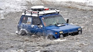 НИВА vs Land Rover Defender vs УАЗ vs Jeep Grand Cherokee vs Suzuki Samurai [Off-Road 4х4]
