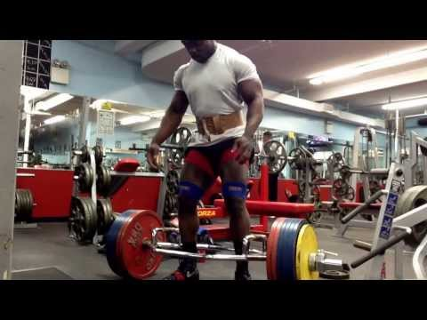 Kevin OAK 800 Lb Trap Bar Deadlift All Sets Image 1